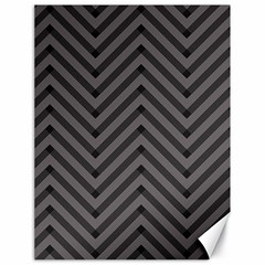 Background Gray Zig Zag Chevron Canvas 18  X 24   by AnjaniArt