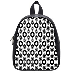 Background Pattern School Bags (small)