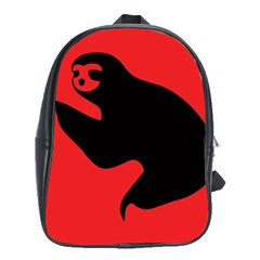 Animal Sloth School Bags(large)  by AnjaniArt