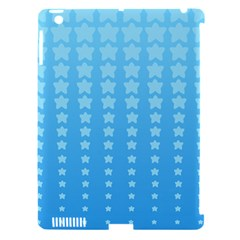 Blue Stars Background Apple Ipad 3/4 Hardshell Case (compatible With Smart Cover) by AnjaniArt