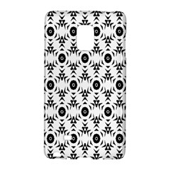 Black White Flower Galaxy Note Edge by AnjaniArt