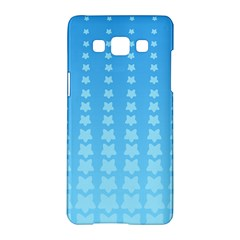 Blue Stars Background Line Samsung Galaxy A5 Hardshell Case  by AnjaniArt