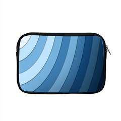 Blue Wave Apple Macbook Pro 15  Zipper Case by AnjaniArt