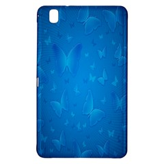 Butterflies Blue Butterfly Samsung Galaxy Tab Pro 8 4 Hardshell Case by AnjaniArt