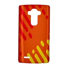 Color Minimalism Red Yellow Lg G4 Hardshell Case by AnjaniArt