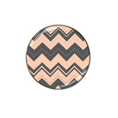 Chevron Ideas Gray Colors Combination Hat Clip Ball Marker (10 Pack) by AnjaniArt