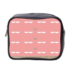 Cool Rose Mini Toiletries Bag 2-Side by AnjaniArt