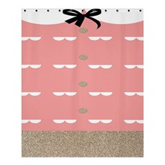 Cool Rose Shower Curtain 60  X 72  (medium)  by AnjaniArt