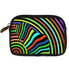 Colorful Cat Digital Camera Cases by AnjaniArt