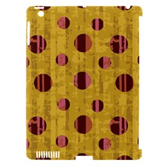 Dot Mustard Apple Ipad 3/4 Hardshell Case (compatible With Smart Cover) by AnjaniArt