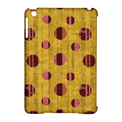 Dot Mustard Apple iPad Mini Hardshell Case (Compatible with Smart Cover) by AnjaniArt