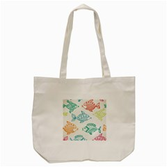 Fish Tote Bag (cream)