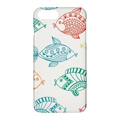 Fish Apple Iphone 7 Plus Hardshell Case by AnjaniArt