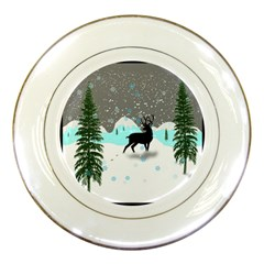 Rocky Mountain High Colorado Porcelain Plates