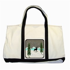 Rocky Mountain High Colorado Two Tone Tote Bag