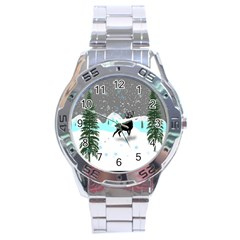 Rocky Mountain High Colorado Stainless Steel Analogue Watch