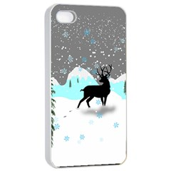 Rocky Mountain High Colorado Apple Iphone 4/4s Seamless Case (white) by Amaryn4rt