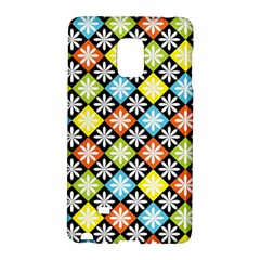 Diamond Argyle Pattern Flower Galaxy Note Edge by AnjaniArt