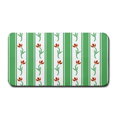 Flower Background Green Medium Bar Mats by AnjaniArt