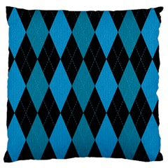 Fabric Background Standard Flano Cushion Case (one Side) by AnjaniArt