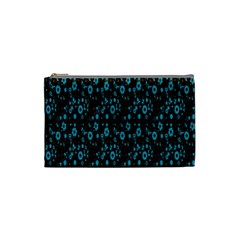 Flower Fondo Cosmetic Bag (small)  by AnjaniArt