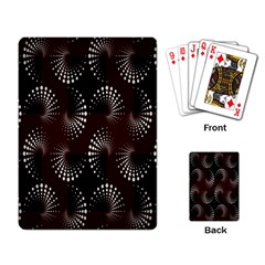 Free Dot Spiral Seamless Playing Card by AnjaniArt