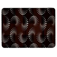 Free Dot Spiral Seamless Samsung Galaxy Tab 7  P1000 Flip Case by AnjaniArt
