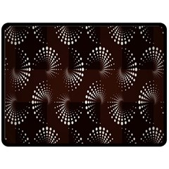 Free Dot Spiral Seamless Double Sided Fleece Blanket (large)  by AnjaniArt
