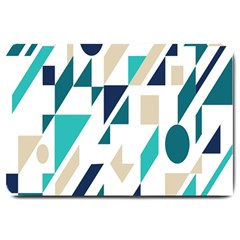Geometric Large Doormat  by AnjaniArt