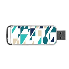 Geometric Portable Usb Flash (one Side) by AnjaniArt