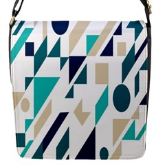 Geometric Flap Messenger Bag (s) by AnjaniArt