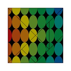 Geometry Round Colorful Acrylic Tangram Puzzle (6  X 6 ) by AnjaniArt
