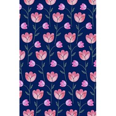 Flower Tulip Floral Pink Blue 5 5  X 8 5  Notebooks by AnjaniArt
