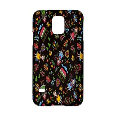 Happy Family Flower Home Sweet Bee Samsung Galaxy S5 Hardshell Case  by AnjaniArt