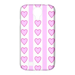 Heart Pink Valentine Day Samsung Galaxy S4 Classic Hardshell Case (pc+silicone) by AnjaniArt