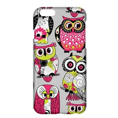 Illustration Seamless Colourful Owl Pattern Apple Iphone 6 Plus/6s Plus Hardshell Case by AnjaniArt