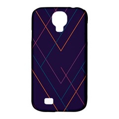 Line Color Samsung Galaxy S4 Classic Hardshell Case (pc+silicone) by AnjaniArt