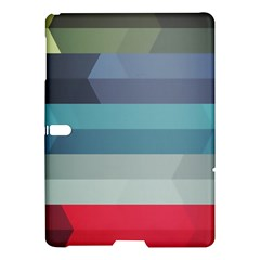 Line Light Stripes Colorful Samsung Galaxy Tab S (10 5 ) Hardshell Case  by AnjaniArt