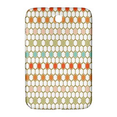 Lab Pattern Hexagon Multicolor Samsung Galaxy Note 8 0 N5100 Hardshell Case  by AnjaniArt