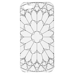 Roses Stained Glass Apple Iphone 5 Hardshell Case by Amaryn4rt