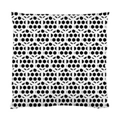 Seamless Honeycomb Pattern Standard Cushion Case (two Sides) by Amaryn4rt