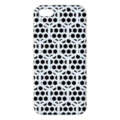 Seamless Honeycomb Pattern Iphone 5s/ Se Premium Hardshell Case by Amaryn4rt