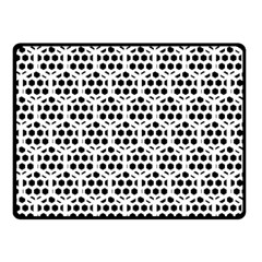 Seamless Honeycomb Pattern Double Sided Fleece Blanket (small)  by Amaryn4rt