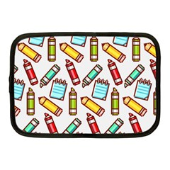 Seamless Pixel Art Pattern Netbook Case (medium)  by Amaryn4rt