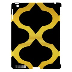 Seamless Gold Pattern Apple Ipad 3/4 Hardshell Case (compatible With Smart Cover) by Amaryn4rt