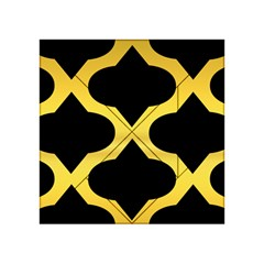 Seamless Gold Pattern Acrylic Tangram Puzzle (4  X 4 ) by Amaryn4rt