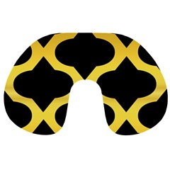 Seamless Gold Pattern Travel Neck Pillows