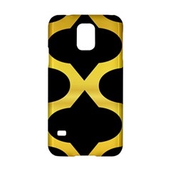 Seamless Gold Pattern Samsung Galaxy S5 Hardshell Case  by Amaryn4rt