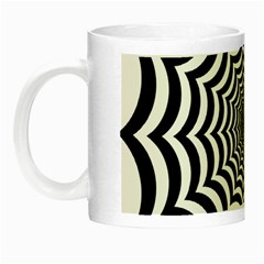 Spider Web Hypnotic Night Luminous Mugs by Amaryn4rt
