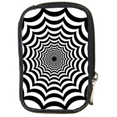 Spider Web Hypnotic Compact Camera Cases by Amaryn4rt